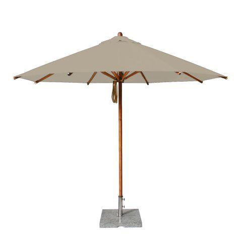 round 3m wooden parasol large parasols. Black Bedroom Furniture Sets. Home Design Ideas