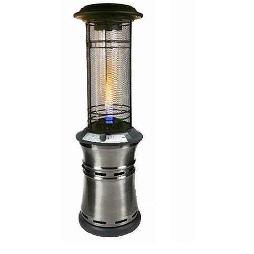 Santorini Collapsible Flame Tower Heater
