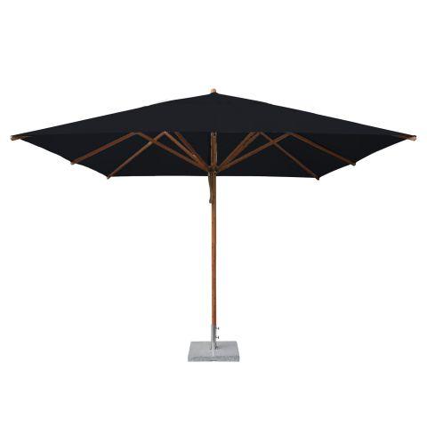 rectangular x wooden parasol large parasols. Black Bedroom Furniture Sets. Home Design Ideas