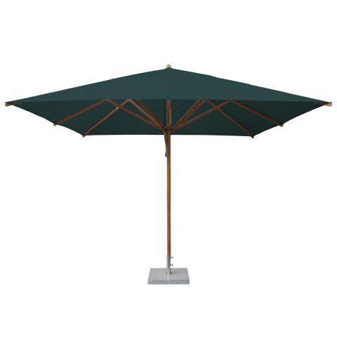 square 3m wooden parasol large parasols. Black Bedroom Furniture Sets. Home Design Ideas