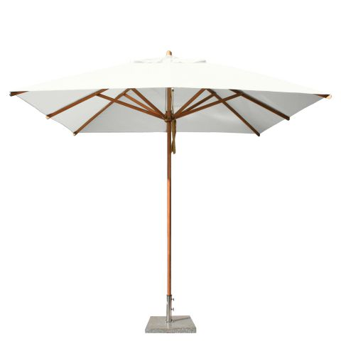 square 3m wooden parasol large parasols. Black Bedroom Furniture Sets. Home Design Ideas