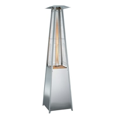 Stainless Steel Tower Pyramid Heater (Gas)